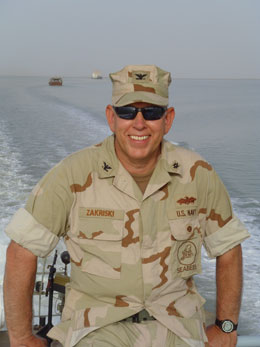 photo of CAPT Tim Zakriski, USN